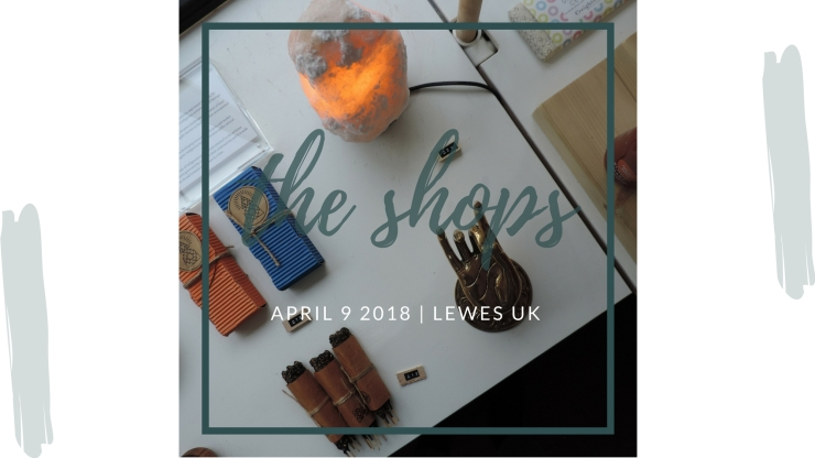 lewes- the shops